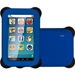 "Tablet Multilaser Kid Pad 8gb Wi-Fi Tela 7"" Android 4.2 Processador Dual Core 2x1,2ghz - Azul"