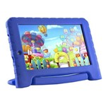 "Tablet Multilaser Kid Pad Plus 7"" 8gb Bluetooh Azul Nb278"