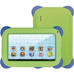 "Tablet Multilaser Kit Pad NB047 Android 4.1 Wi-Fi Tela de 7"" 4GB Verde"