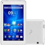 "Tablet Multilaser M7-i NB191 8GB 3G Wi-FI Tela 7"" Android 4.4 Quad Core - Branco"