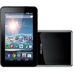 "Tablet Multilaser M7S Dual Core 8GB Wi-Fi 3G Tela 7"" Android 4.2 - Preto + Capa e Teclado"
