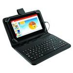 "Tablet Multilaser M7s Nb196 7"" Quad Core 1,2 Ghz Teclado Preto"