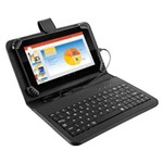 Tablet Multilaser M7s Plus com Teclado Nb283, Android 7.0, Tela 7.0'', Memória 8gb, Wi-Fi - Preto