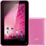"Tablet Multilaser NB045 com Android 4.1 Wi-Fi Tela 7"" Touchscreen Rosa e Memória Interna 4GB"