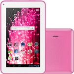 "Tablet Multilaser PC7 M7-S 4GB Wi-fi Tela 7"" Android 4.1 Processador 1.2 GHz - Rosa"