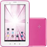 Tablet PCM-PRO NB033 Android 4.1 Wi-Fi e 3G 7 Rosa - Multilaser