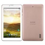 Tablet Rosa Ouro com Case com Teclado 7 Polegadas Função Celular 4g, Wifi, Bluetooth, Dual Chip, Homologado Anatel, Multilaser, Android 8.1 Oreo Go
