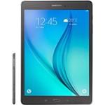 """Tablet Samsung Galaxy Tab a P555M Vivo 16GB 4G Wi-Fi Tela 9.7"""" Android 5.0 Quad-Core - Cinza"""