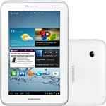 "Tablet Samsung Galaxy Tab 2 P3110 com Android 4.0 Wi-Fi Tela 7.0"" Touchscreen Branco e Memória Interna 8GB"
