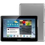 Tablet Samsung Galaxy Tab 2 P5110 com Android 4.0 Wi-Fi Tela 10.1'' Touchscreen Prata e Memória Interna 16GB