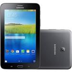 "Tablet Samsung Galaxy Tab T116 8GB Wi-Fi 3G Tela 7"" Android 4.4 Processador Quad Core 1.3Ghz - Preto"