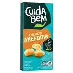 Tablete de Amendoim Zero Açúcar 60g - Cuida Bem