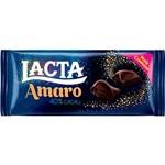 Tablete Meio Amargo Amaro 90g - Lacta