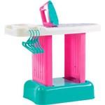 Tábua de Passar Infantil Bell Toy - 6 Acessórios - Rosa/verde