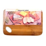 Tábua para Carne em Bambu 30 X 20 Cm