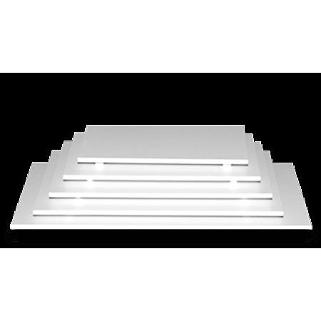 Tabuleiro Retangular Branco 30cm X 40cm - Unidade
