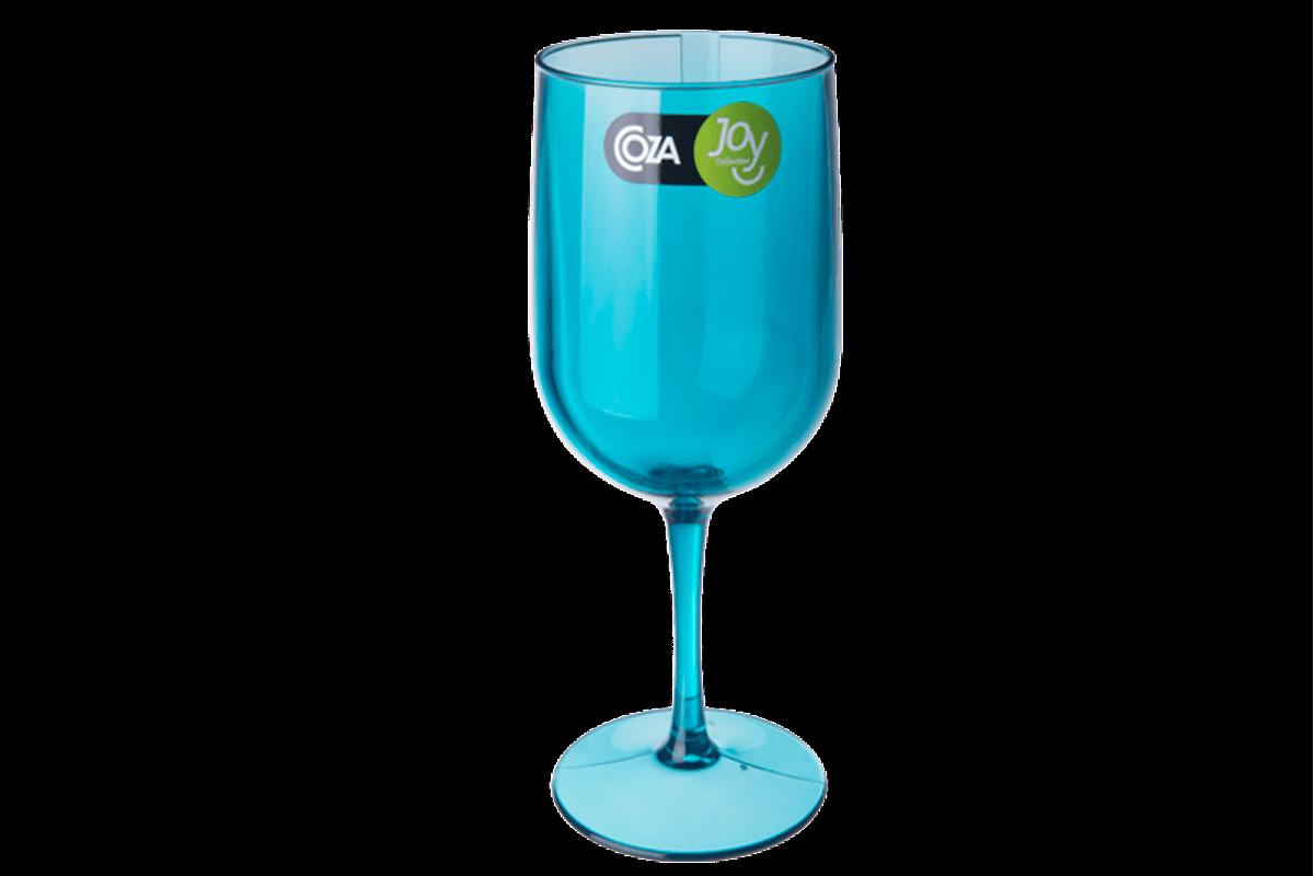 Taça Água/Vinho - Fun 8,1 X 8,1 X 20,5 Cm 380 Ml Verde Coza