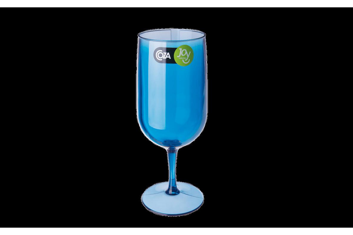 Taça Cerveja - Fun 6,1 X 6,1 X 18,5 Cm 300 Ml Azul Coza