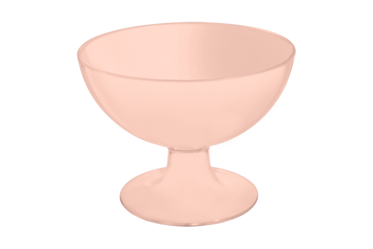 Taça de Sobremesa Cozy 150 Ml Rosa Blush Coza