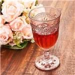 Taça de Vinho Bico Jaca Veneza 270ml Havan Rose Rose
