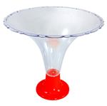 Taça Decorativa Vermelha