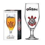 Taça Dunkel 380 Ml Corinthians de Vidro Logo Cerveja