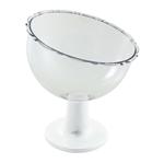 Taça Inclinada Pequena Branca