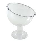 Taça Inclinada Pequena Transparente