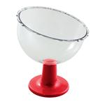 Taça Inclinada Pequena Vermelha