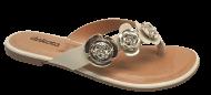 Tamanco Feminino Conforto Dakota Z2141 Flor | Dtalhe Calçados