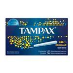 Tampax Absorvente Íntimo Regular C/10