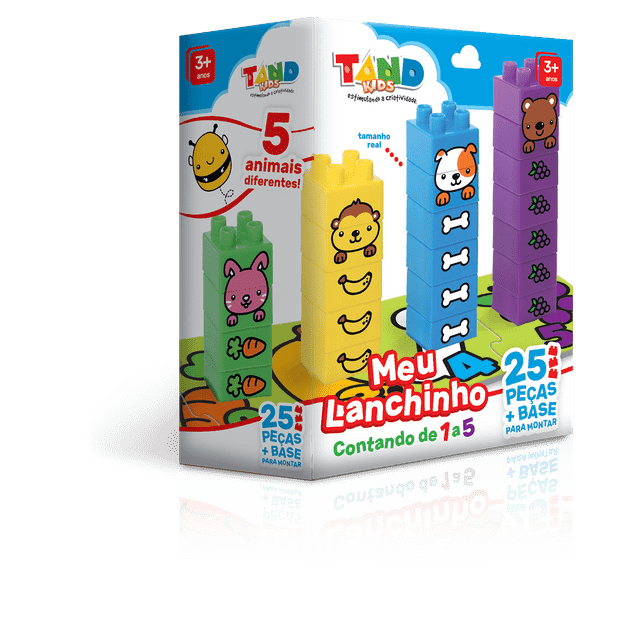 Tand Kids Meu Lanchinho Contando de 1 a 5