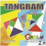 Tangram em Mdf com 70 Pçs Coloridas 1089 Carlu