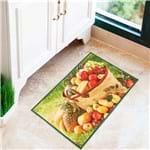 Tapete 45x75cm Veneza para Cozinha Verde Claro Verde Claro