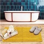 Tapete Arezo 45x70cm para Banheiro Havan Mostarda Mostarda