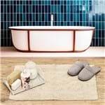 Tapete Arezo 45x70cm para Banheiro Havan Natural Natural