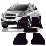 Tapete Carpete Preto Chevrolet Tracker