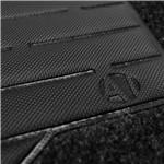 Tapete Carpete Strada Preto 2013 2014 Logo Bordado 2 Lados Dianteiro Cabine Simples