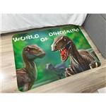 Tapete de Brincar Infantil Estampa Digital 95x130m Dino