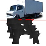 Tapete Inteiriço de PVC Caminhão MB912 Bordado Azul Vermelho ou Prata Todos os Anos