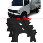 Tapete Inteiriço de PVC Caminhão MB914 Bordado Azul Vermelho ou Prata 94 95 96 97 98