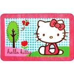 Tapete Oriental 80x120 Hello Kitty no Parque - Jolitex