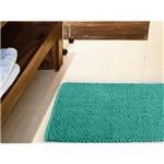 Tapete para Banheiro Antiderrapante Micropop 60 X 40cm Azul