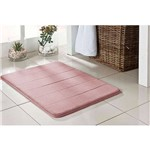 Tapete para Banheiro Antiderrapante Rosa 40x60cm Soft
