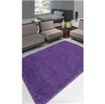Tapete Realce Liso 150X200 Cm Lilas