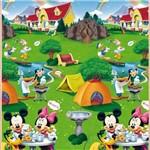 Tapete Recreio Disney Mickey Minnie Atividades 1,80mx1,20m Jolitex