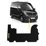 Tapete Van Renault Master PVC (2013 em Diante) - Preto