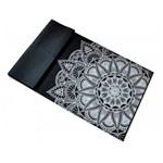 Tapete Yoga Mat Dobrável em PVC ECO Hopumanu - Preto