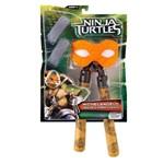 Tartarugas Ninja - Equipamentos para Batalha - Michelangelo - Multikids