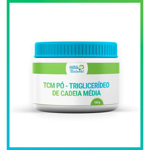 Tcm Pó - Triglicerídeo de Cadeia Média 100 Gramas